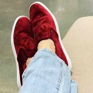 Love Me Red Velvet Sneakers